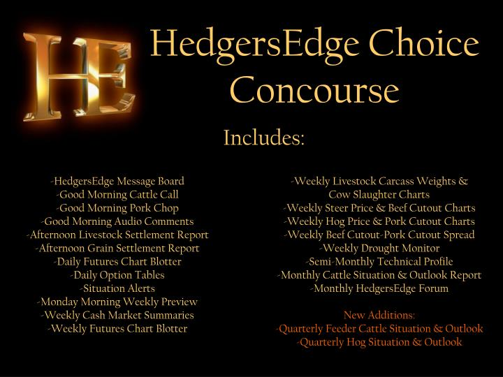 HedgersEdge Choice Concourse