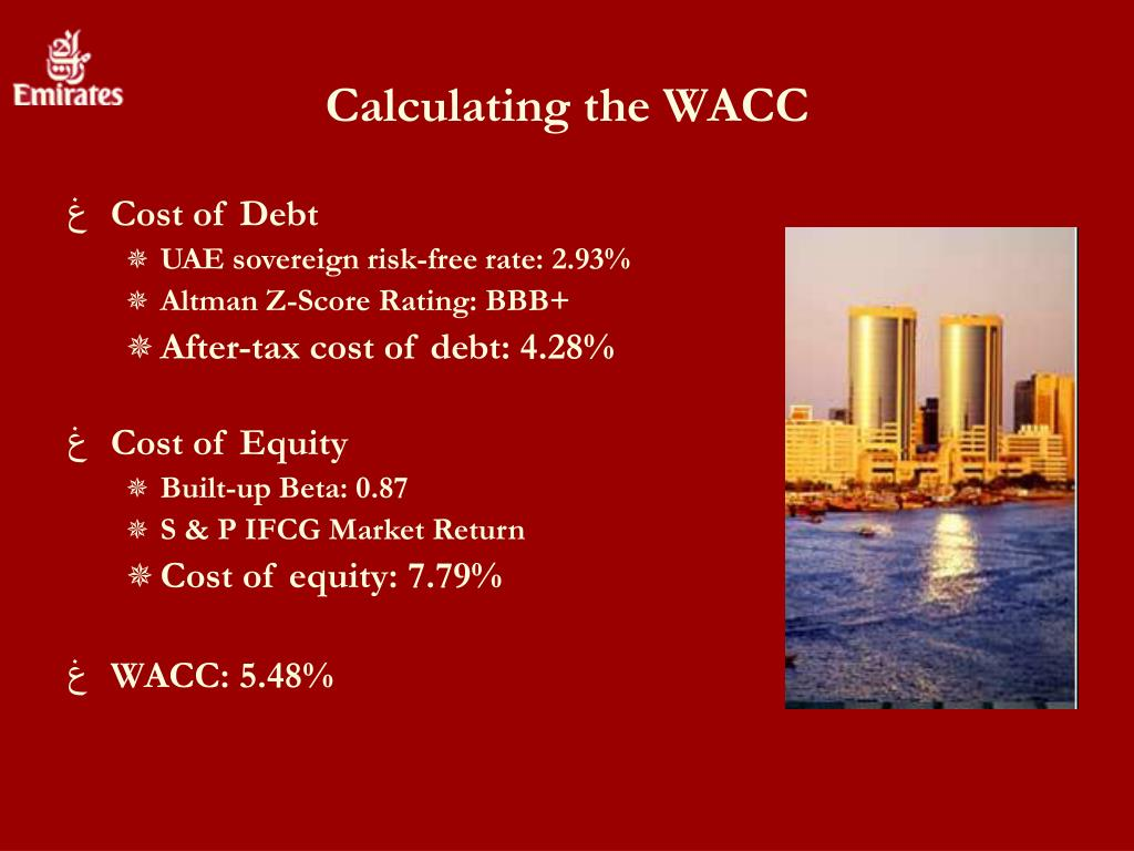 Calculating the WACC