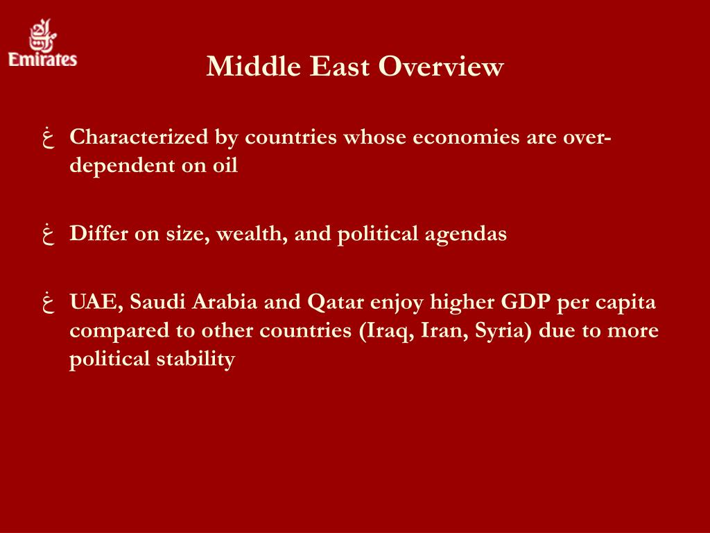 Middle East Overview