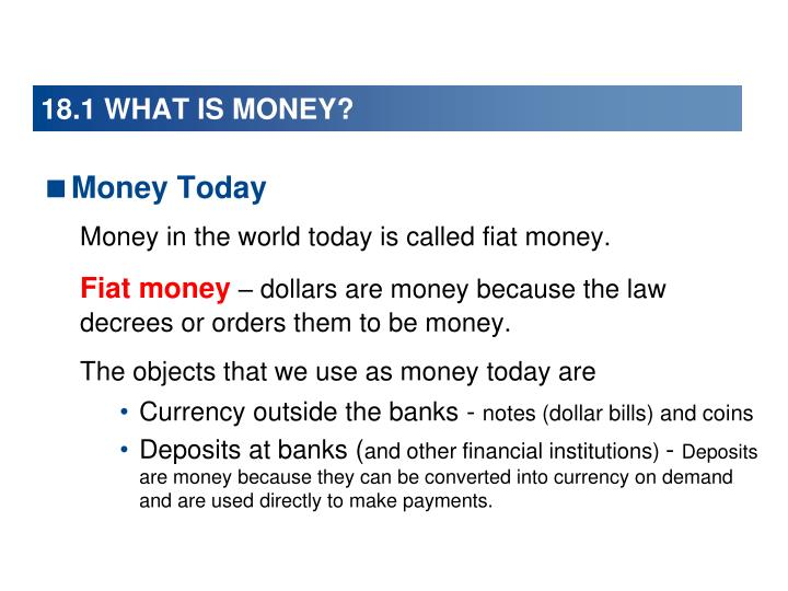 18 1 what is money1