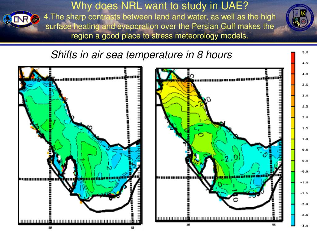 Why does NRL want to study in UAE?