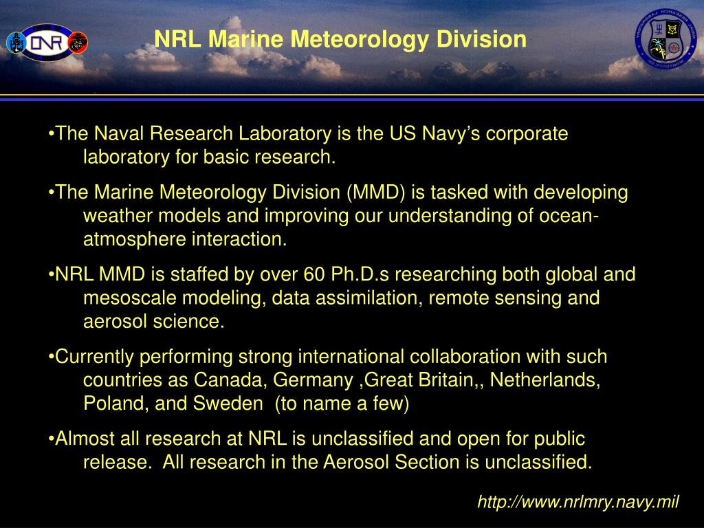 NRL Marine Meteorology Division