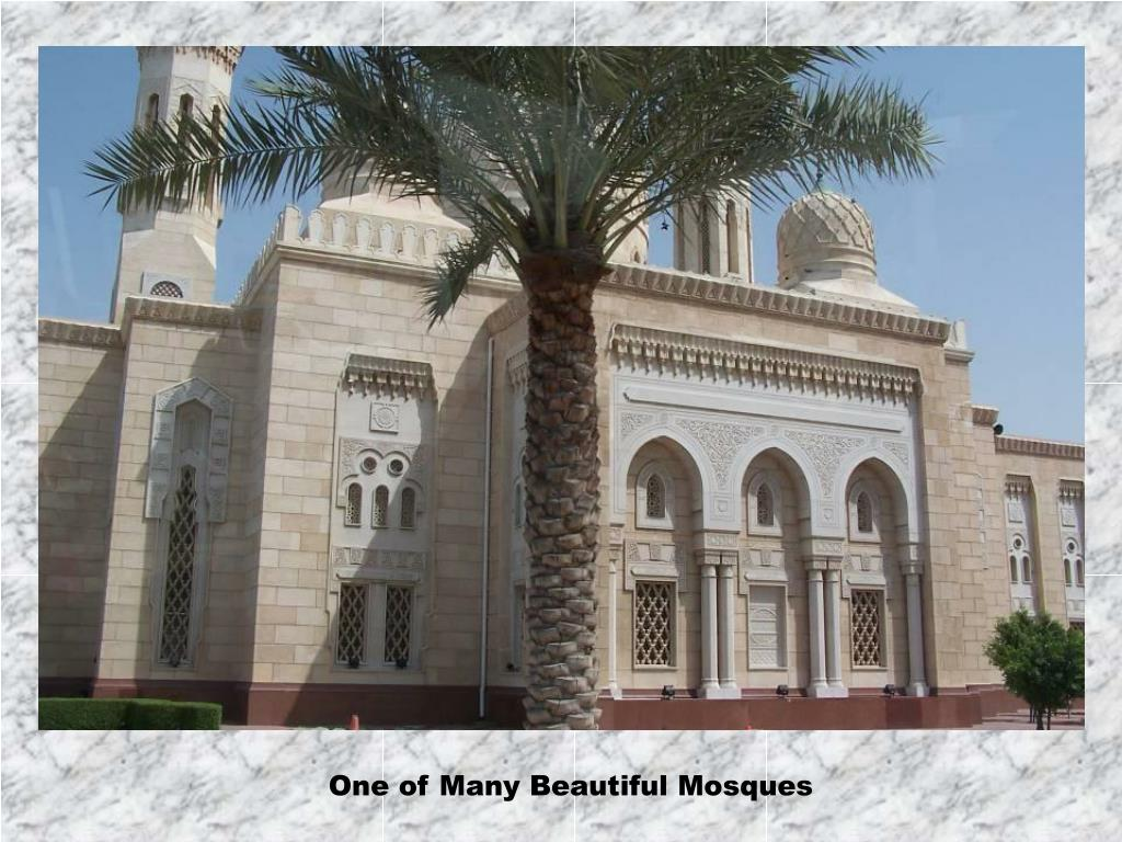 One of Many Beautiful Mosques