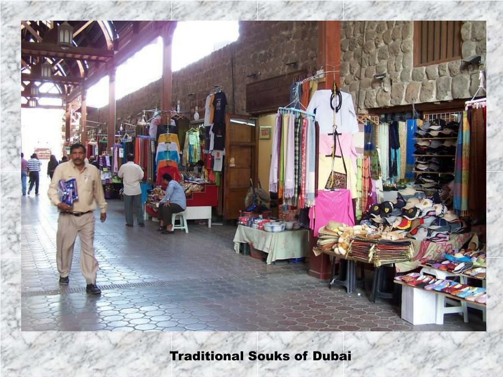 Traditional Souks of Dubai