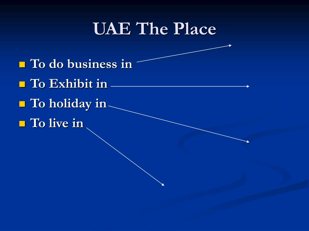 UAE The Place