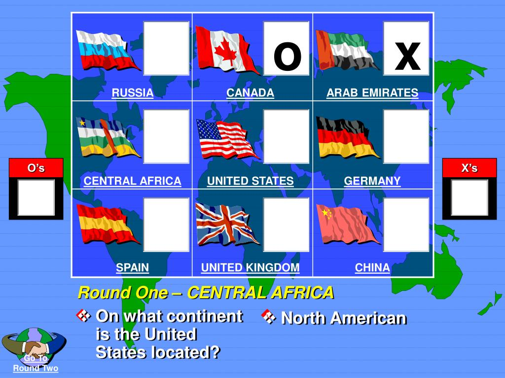 On what continent is the United States located?