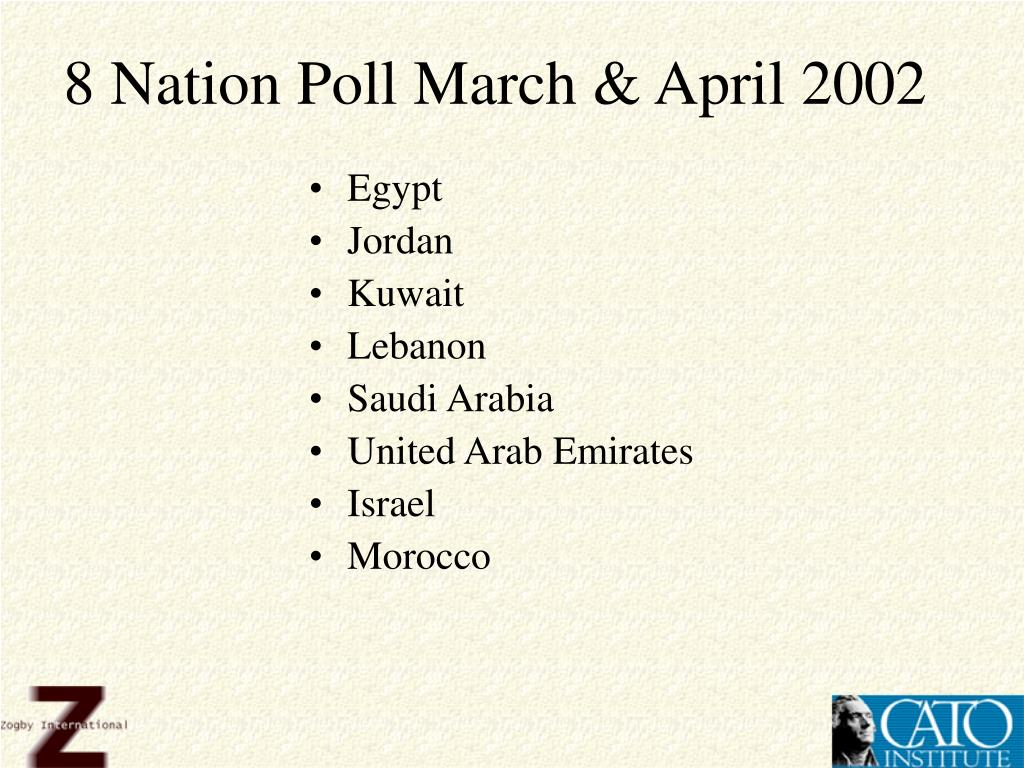 8 Nation Poll March & April 2002
