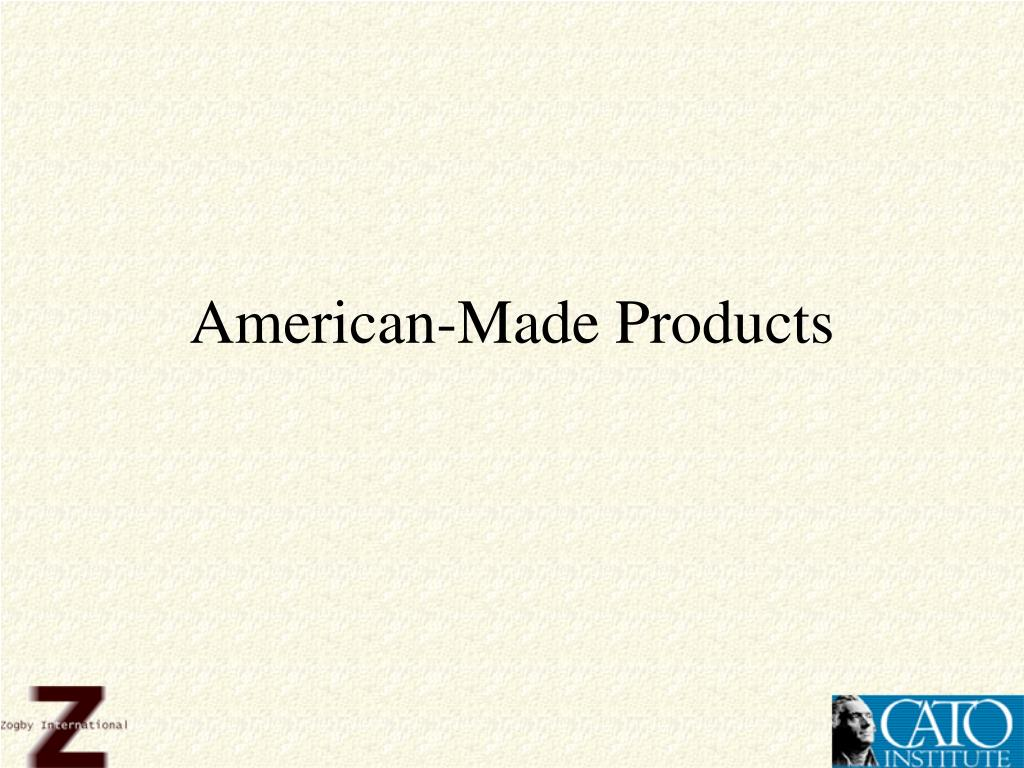 American-Made Products
