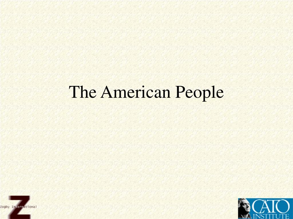 The American People