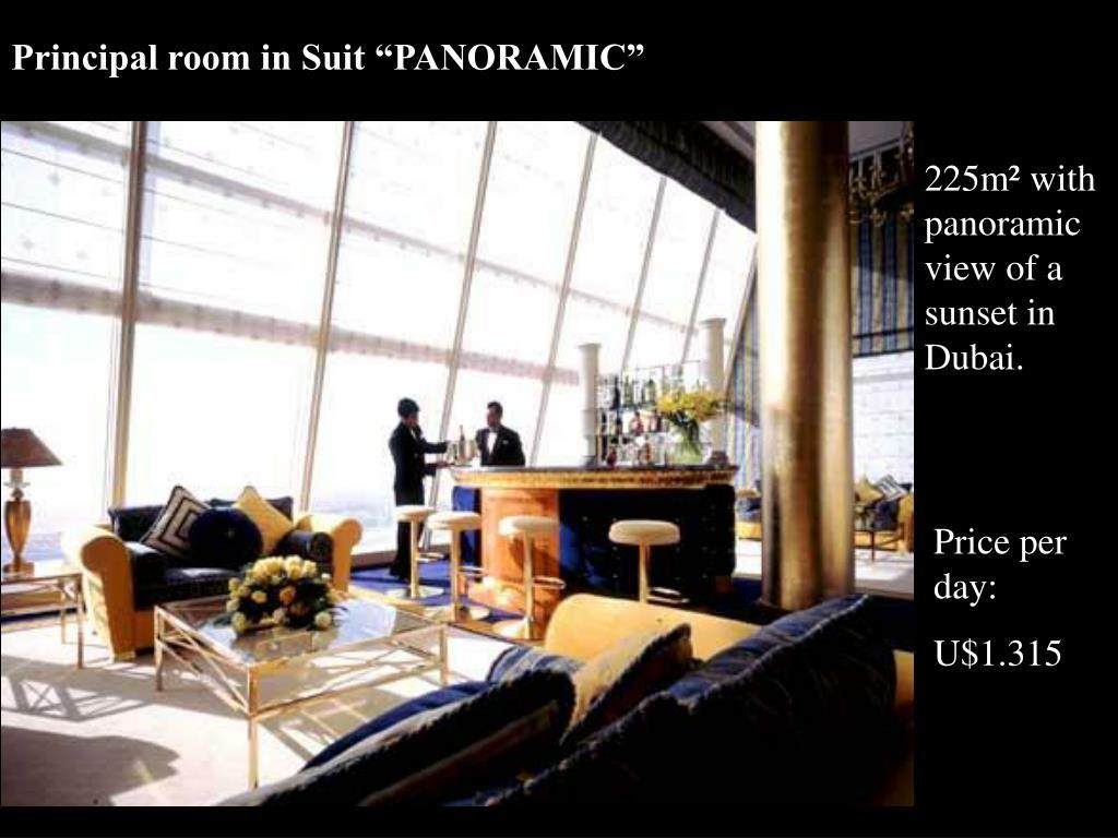 """Principal room in Suit """"PANORAMIC"""""""