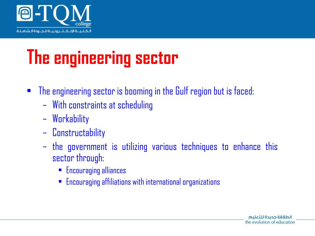 The engineering sector