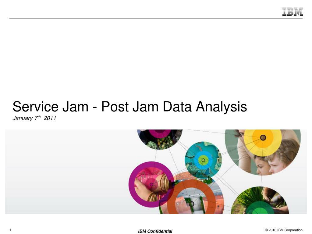 Service Jam - Post Jam Data Analysis