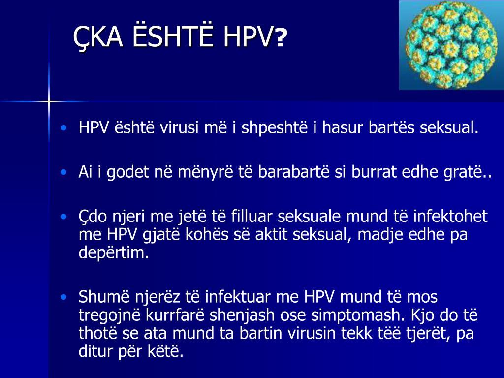 ÇKA ËSHTË HPV