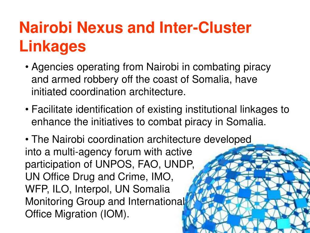 Nairobi Nexus and Inter-Cluster Linkages