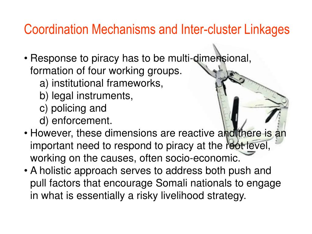 Coordination Mechanisms and Inter-cluster Linkages