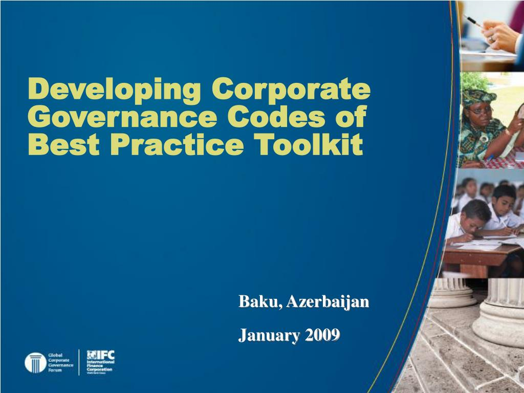 Developing Corporate Governance Codes of Best Practice Toolkit