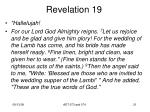 revelation 1919