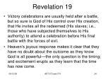 revelation 1922