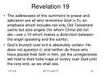 revelation 1923