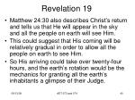 revelation 1938