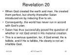 revelation 201
