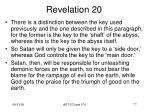 revelation 2013
