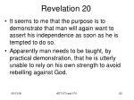 revelation 2018