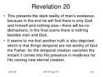revelation 2036