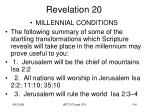 revelation 2050