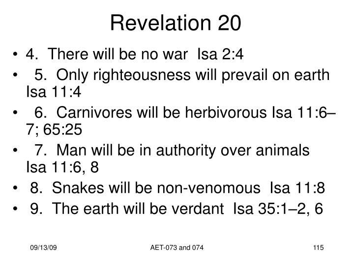 Revelation 20
