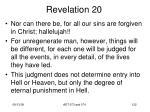 revelation 2058