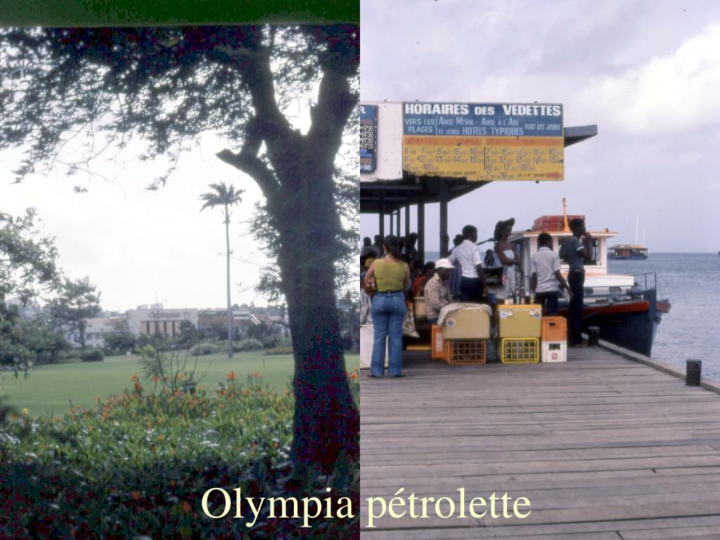 Olympia pétrolette