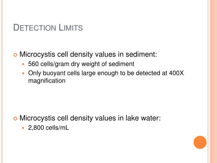 Detection Limits