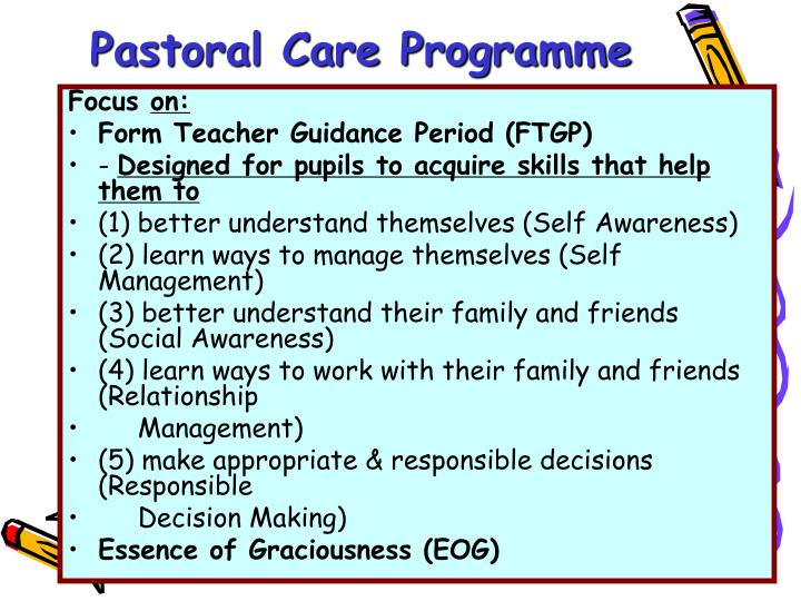 Pastoral Care Programme