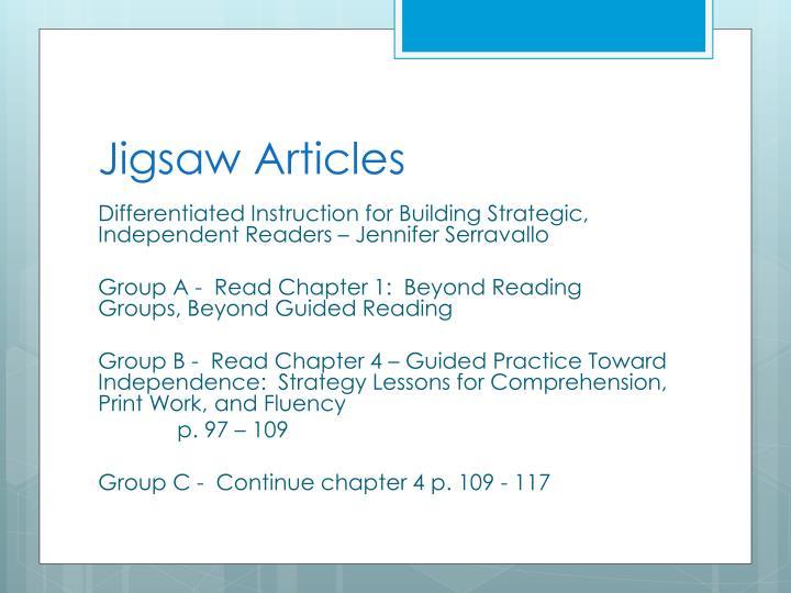 Jigsaw Articles