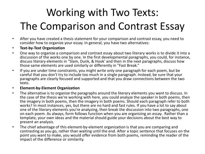 philosophy theory and ideology comparison and contrasts essay Sample compare and contrast essay on teaching and learning theories: behaviorism and constructivism teaching and learning theories essay example research paper on behaviorist and constructivist models of learning.