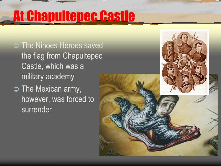 At Chapultepec Castle