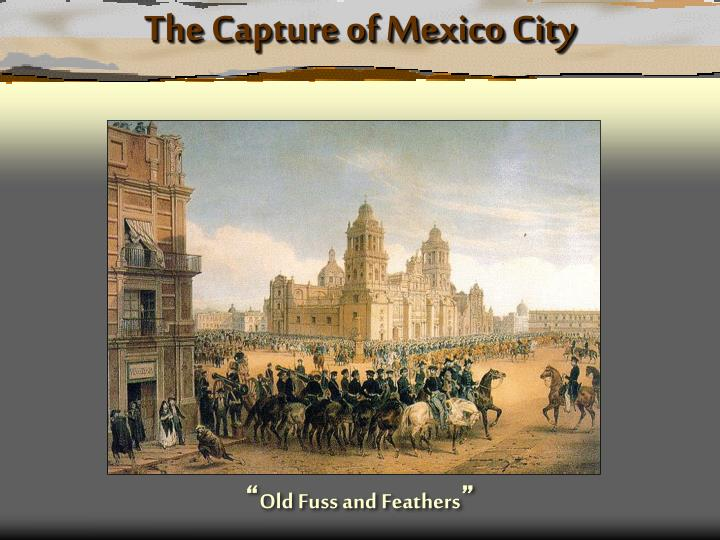 The Capture of Mexico City