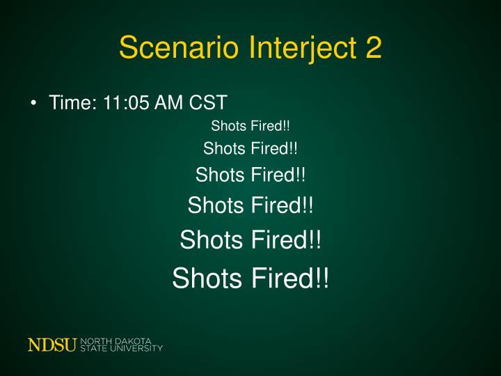 Scenario Interject 2