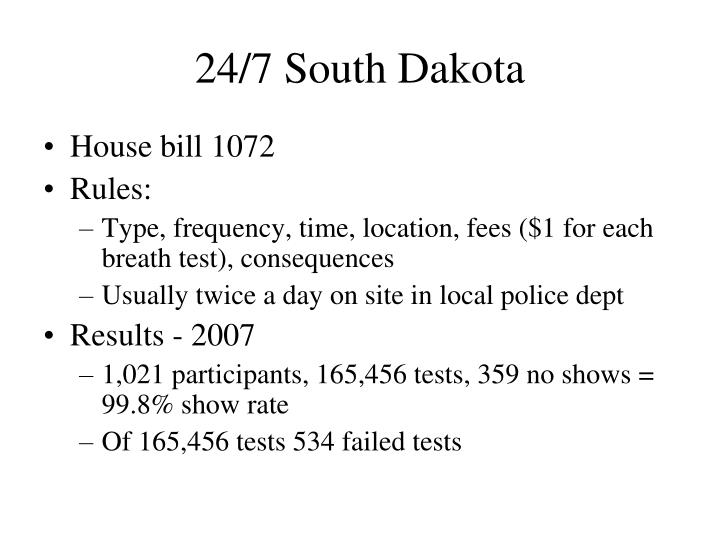 24/7 South Dakota