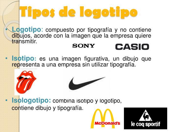 Tipos de logotipo