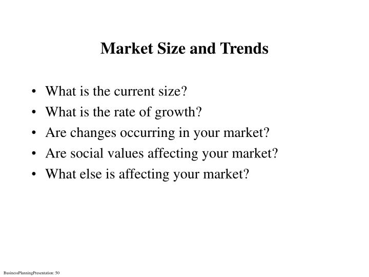 Market Size and Trends
