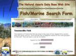 fish marine search form