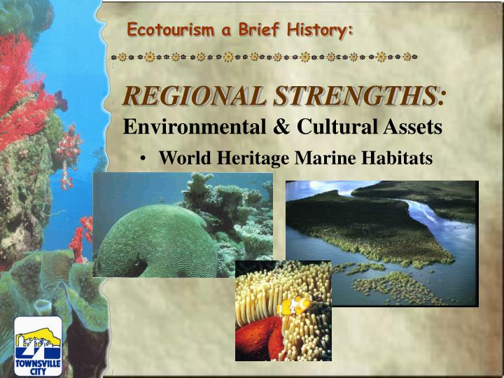 Ecotourism a Brief History: