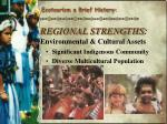 regional strengths environmental cultural assets4