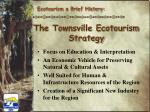 the townsville ecotourism strategy