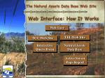 web interface how it works