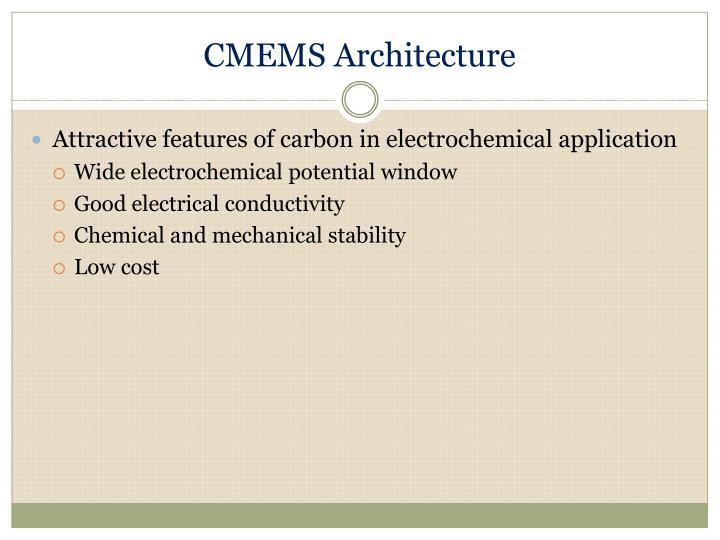CMEMS Architecture
