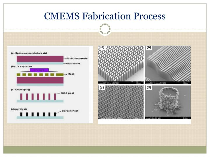 CMEMS Fabrication Process
