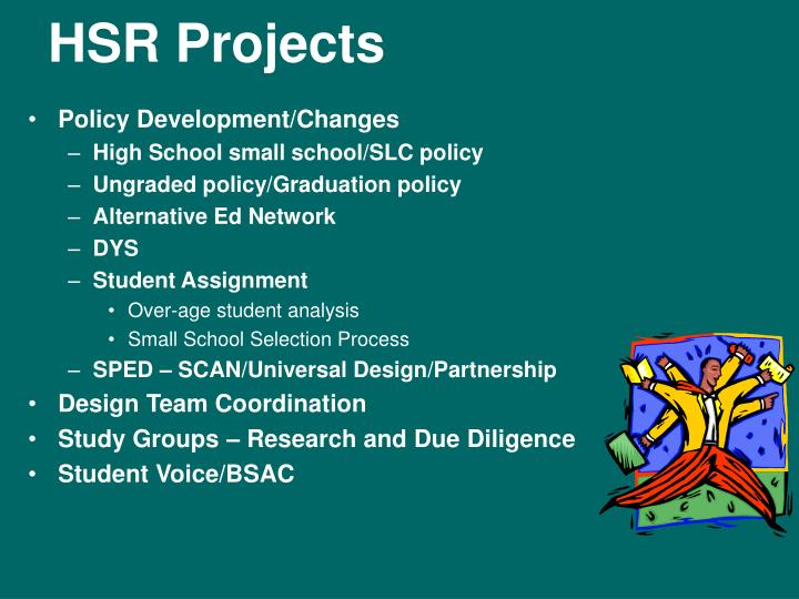 HSR Projects